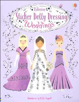 Sticker Dolly Dressing Weddings