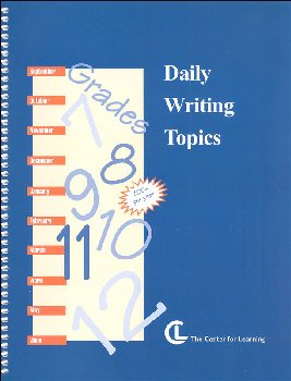 Daily Writing Topics