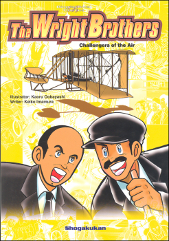 Wright Brothers Challengers of the Air (Biographical Comics)