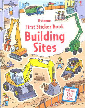 First Sticker Book - Building Sites
