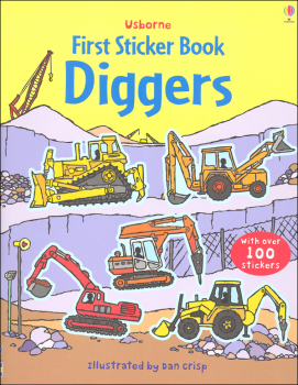 First Sticker Book - Diggers