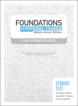 Foundations in Personal Finance for Middle School Homeschool Student