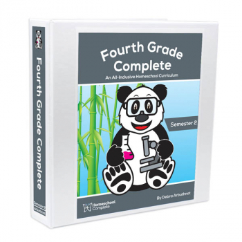 Fourth Grade Complete: Semester 2 - Additional Student Workbook