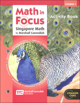 Math in Focus Course 1 Grade 6 Blackline Activities Book