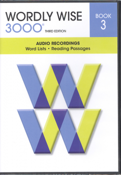 Wordly Wise 3000 3rd Edition Audio CD Book 3 (set of 3)