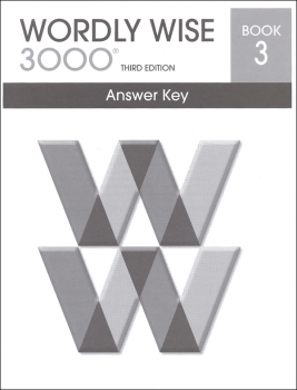 Wordly Wise 3000 3rd Edition Key Book 3
