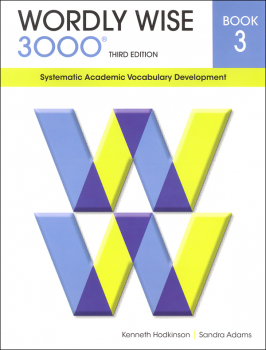 Wordly Wise 3000 3rd Edition Student Book 3