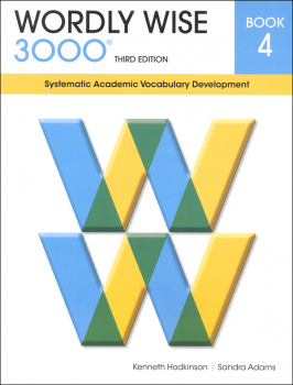Wordly Wise 3000 3rd Edition Student Book 4
