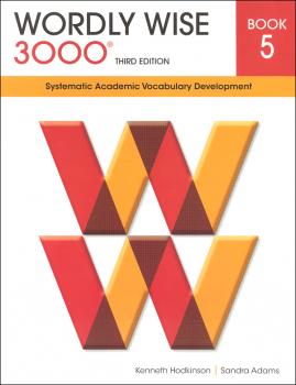 Wordly Wise 3000 3rd Edition Student Book 5