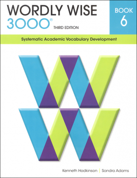 Wordly Wise 3000 3rd Edition Student Book 6