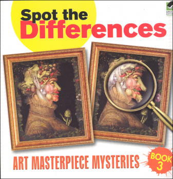 Spot the Differences - Art Masterpiece Mysteries Book 3