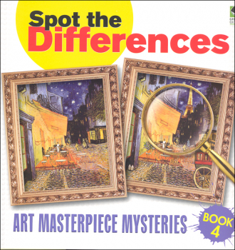 Spot the Differences - Art Masterpiece Mysteries Book 4