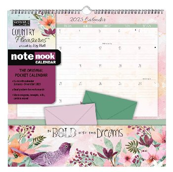 Country Pleasures Note Nook 2021 Calendar