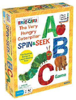 Very Hungry Caterpillar Spin & Seek ABC Game