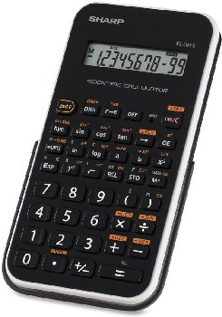 Scientific Calculator White Accent