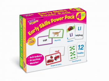 Early Skills Power Pack (4 Card Set)
