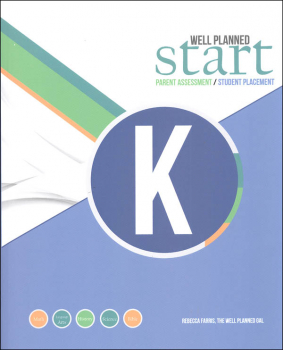 Well Planned Start Parent Assessment/Student Placement Test Grade K