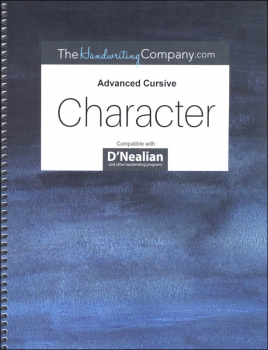 Character D'Nealian - Advanced Cursive