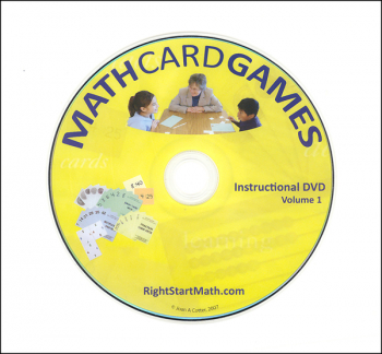 Math Card Games Instructional DVD: Volume 1