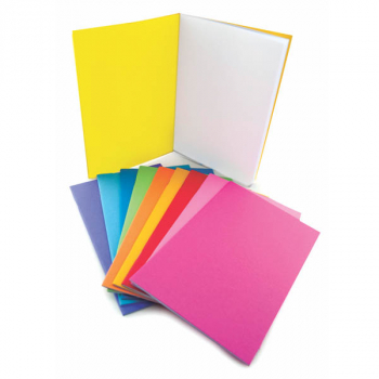 "Bright Blank Books Assorted Colors (2.75"" x 4.25"") Package of 20"