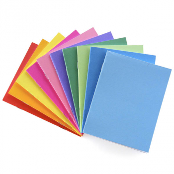 "Bright Blank Books Assorted Colors (4.25"" x 5.5"") Package of 20"