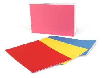 "Bright Blank Books Assorted Colors (5.5"" x 8.5"") Horizontal Package of 20"