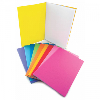 "Bright Blank Books Assorted Colors (5.5"" x 8.5"") Package of 20"