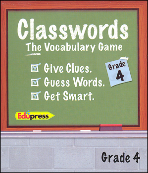 Classwords Vocabulary Game - Grade 4