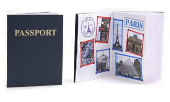 Passport Book Blank Package of 12