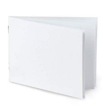 "White Blank Books (4.25"" x 5.5"") Horizontal package of 20"
