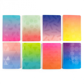 Pocket Pal Journals - Oh My Ombre! (Set of 8)