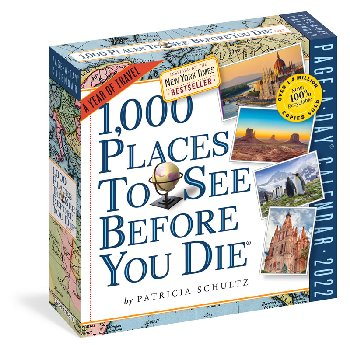 1000 Places to See Before You Die Page-a-Day 2021 Calendar