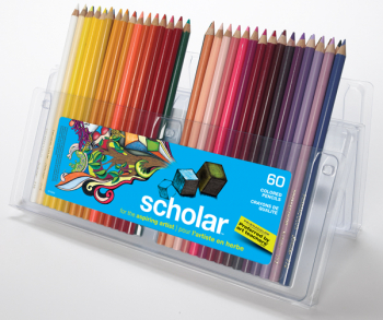Prismacolor Scholar Colored Pencils 60 set