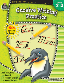 Cursive Writing Practice (Ready, Set, Learn)