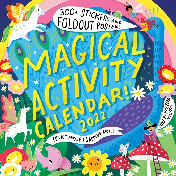 Magical Activity Calendar 2021 Wall Calendar