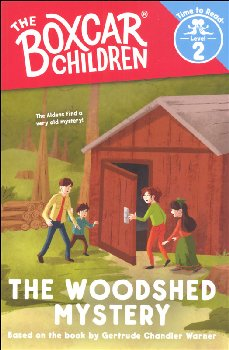 Woodshed Mystery (Boxcar Children Time to Read Level 2)