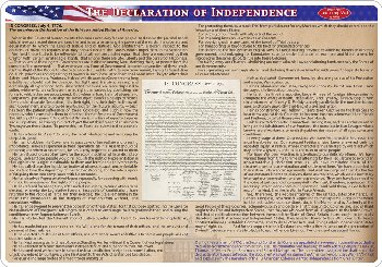 Declaration of Independence Smart Poly Learning Mat