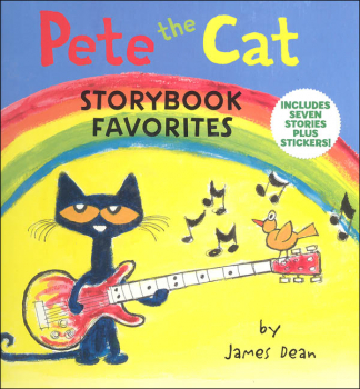 Pete the Cat Storybook Favorites: Includes 7 Stories Plus Stickers!