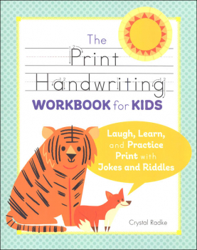 Super-Fun Print Handwriting Workbook for Kids