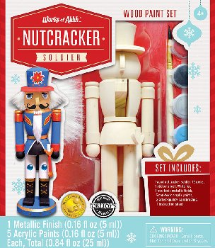 Nutcracker Soldier Painting Kit