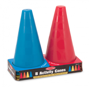 8 Activity Cones Game