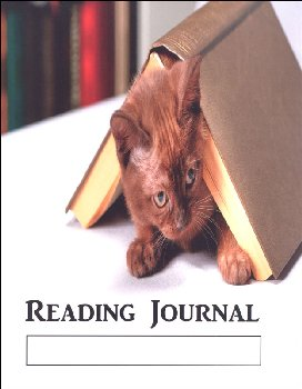 Reading Journal: Cat (Wide Ruled)