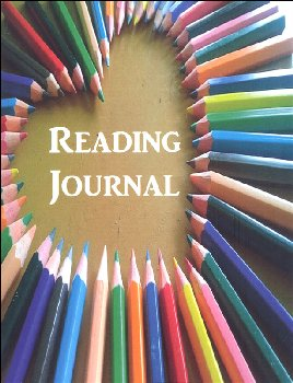 Reading Journal: Colored Pencils (Thin Ruled)
