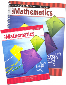 MCP Mathematics Homeschool Bundle Grade 4