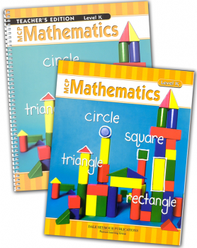 MCP Mathematics Homeschool Bundle Kindergarten