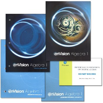 EnVision Math Algebra 1 Homeschool Bundle (2018 Edition)