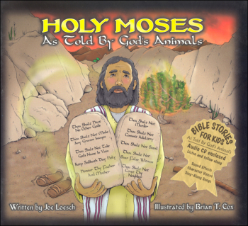 Holy Moses Book & CD (Bible Stories for Kids)