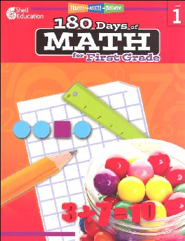 180 Days of Math - Grade 1