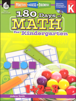 180 Days of Math - Kindergarten