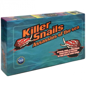Killer Snails Assassins of the Sea Card Game